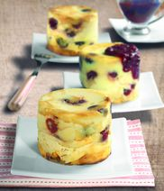American Cranberry Cheesecakes